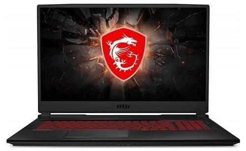 """laptop gamingowy MSI GL75 Leopard 17.3"""" FHDmatt IPS LED 120Hz/i7/8GB/512GB SSD/RTX 2060 6GB/USB3/HDMI/BT/mDP - kod produktu 9SER-227XPL"""