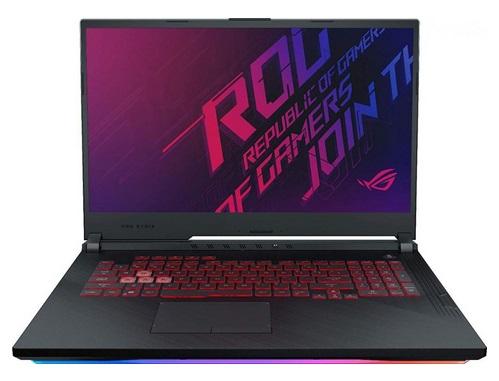 """laptop gamingowy Asus ROG Strix G731GU 17.3"""" FullHD IPS/i7/8GB/512GB SSD PCie/UHD 630 + GTX 1660Ti 6GB/USB3/USB-C/HDMI/BT - kod produktu G731GU-H7158"""