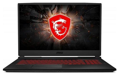 """laptop gamingowy MSI GL75 9SD-080XPL 17.3"""" matowy FHD / i7 / 16GB / 256GB SSD + 1TB HDD / GTX 1660 Ti 6GB / Win 10 Pro / USB 3.0 / mDP - kod produktu GL75 9SD-080XPL"""